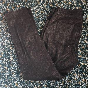 ‼️B2G1‼️H&M black bling bling jeans